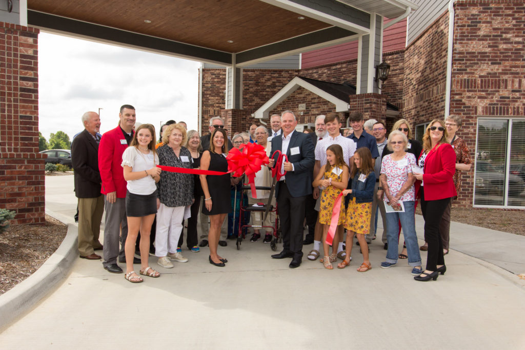 Memorial Hills Grand Opening & Ribbon Cutting Ceremony