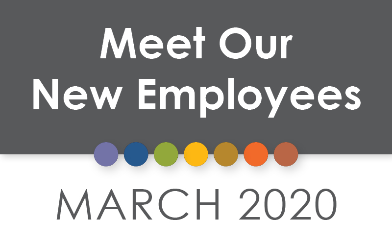March 2020 New Employees